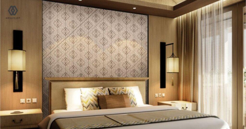 Ciptakan-Kamar-Tidur-Mewah-Ala-Hotel-Berbintang-Panel-Dinding-Interior-Mosaicart